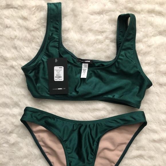 217d693e9a6075 fashion nova Swim | Green Bikini | Poshmark